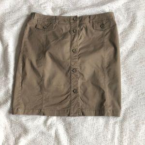 Pencil Kaki skirt